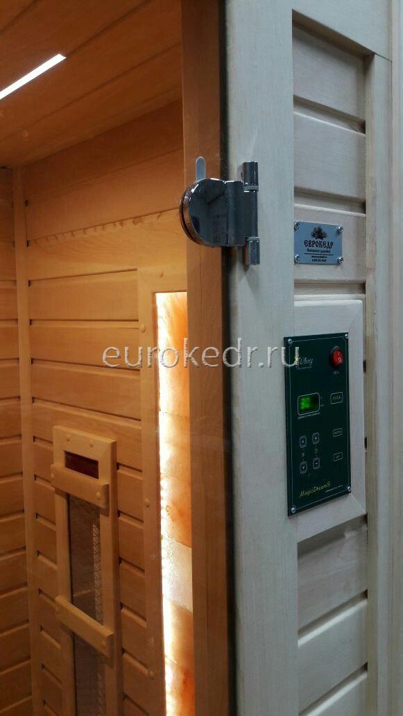 Одноместная ИК сауна с керамическими излучателями