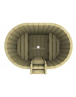 Купель овальная 1200x1200x780 мм