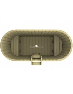 Купель овальная 1200x2000x780 мм